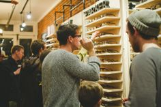 @Warby Parker party at Art in the Age.