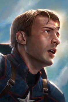 Captain America - Steve Rogers by WeaponMassCreation