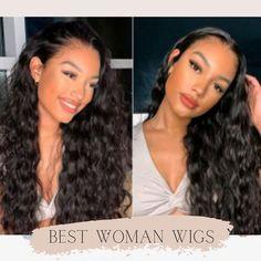 #wigs #hairwigs #humanhairwigs Best Human Hair Wigs, Womens Wigs, Beauty Secrets, Wig Hairstyles, Beauty Women, Amazing Women, Makeup, Shopping, Fashion