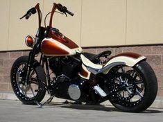customer bikes - Roland Sands Design #harleydavidsonsoftailcrossbones