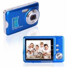 8X Digital Zoom  Digital Camera  This camera has a CMOS sensor, 12MP resolution, 2.7 inch TFT screen, 15.0 megapixel mas resolution, Up to 32GB, 3x optical zoom lens, 8x digital zoom, and much more!