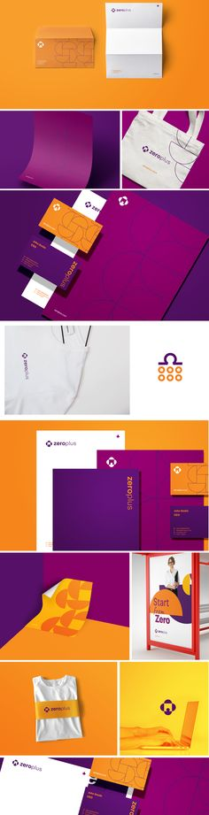 Brand identity design for Zero+, an online platform that aims to make it easier for influencers to manage their business and help brands and companies establish partnerships with those celebrities as well. Corporate Design, Brand Identity Design, Branding Design, Corporate Branding, Logo Branding, Web Design, Fashion Logo Design, Graphic Design, Designers Gráficos