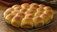 One whiff of these fragrant rolls, and you'll be counting the moments until you can take them out of the oven!