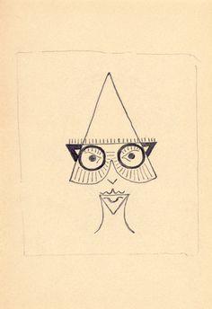 Serge Charchoune, dada portraits 1922