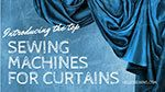 Best Sewing Machines For Curtains And Other Window Treatments ⋆ Hello Sewing Dress Patterns, Sewing Patterns, Sewing Tutorials, Dress Tutorials, Sewing Projects, Diy Projects, Hair Towel Wrap, Clothespin Bag, Reading Pillow