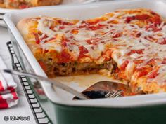 Stuffed Pizza Casserole...I think I would add some pepperoni to this also....sounds yummy