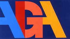 A design for AIGA or American Institute for Graphic Arts.