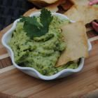 """Edamame Hummus with Stacy's """"Simply Naked"""" Pita Chips -YUMMY!"""