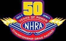 Brand: NHRA 50 Years Logo