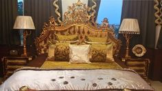 Brown Golden Classic bed