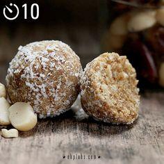 EHPlabs | Blog - Salted Caramel Protein Bites