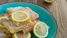 Soft, dense and lemony, our gluten free lunchbox lemon slice is an afternoon tea essential. Gluten Free Recipes, Baking Recipes, Cake Recipes, Dessert Recipes, Lemon Slice, No Cook Desserts, Afternoon Tea, Love Food, Yummy Treats