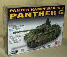PANZER MODEL PANTHER G KAMPFWAGEN V LINDBERG 76083 1:72 GERMAN TANK 2007 USA. #Lindberg