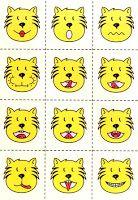 KSIĄŻECZKI SYNKA I CÓRECZKI :): Wesołe minki tygrysa