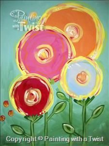"""SPRING BREAK KIDS CAMP! Join us for """"Lollipop Flowers"""" Wednesday March, 16 @ 11am."""