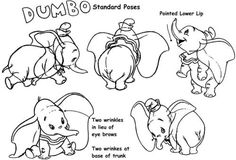 The Art Of Animation, Disney: Model Sheet, Dumbo