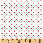 EH-279 Michael Miller Mini Mikes Dot Duo Red