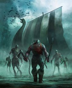 The Viking Dead Book Cover by Gaius31duke