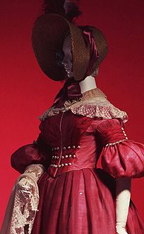 Day Dress c. 1835 The Kyoto Costume Institute