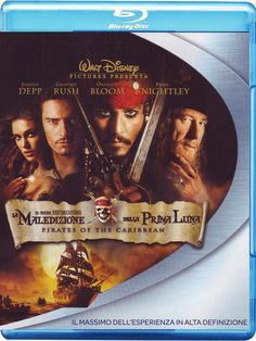 Pirati Dei Caraibi - La Maledizione Della Prima Luna Special Edition 2 Blu-Ray: Amazon.it: Johnny Depp, Geoffrey Rush, Keira Knightley, Orlando Bloom, Jonathan Pryce, Lee Arenberg, Mackenzie Crook, Giles New, Angus Barnett, David Bailie, Michael Berry Jun