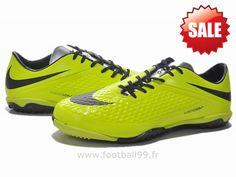 Chaussures de foot nike Hypervenom Phelon TF Fluorescent Vert Noir Nike Hypervenom Phantom Air Max Sneakers, Sneakers Nike, Phantom, Nike Air Max, Football, Shoes, Fashion, Green, Black People