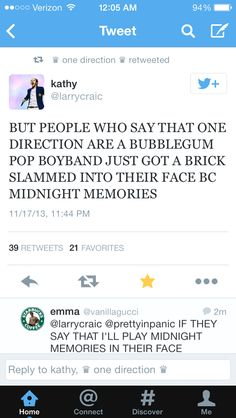 True. Midnight Memories is NOTHING like Up All Night and Take Me Home. It's much more grown-up for them and I LOVE IT! <3