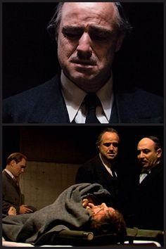 """Look how they massacred my boy..."" - Don Vito. The Godfather"