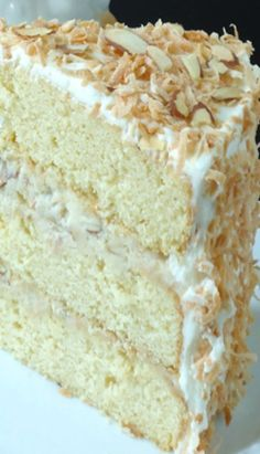 Coconut Almond Cream cake