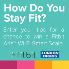 Enter for Your Chance to Win a FitBit Aria Wi-fi Smart Scale! Easy entry, one time only!