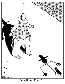 """The Far Side"" by Gary Larson.... https://au.pinterest.com/0helix/far-side/"