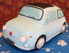 Vintage Fiat Cake...