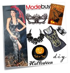Modebuy.com Holloween Diy by modebuy on Polyvore featuring Post-It and modebuy