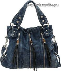 Bag Jeans, Denim Tote Bags, Denim Purse, Jeans Denim, Blue Jean Purses, Diy Sac, Chanel Shoulder Bag, Shoulder Bags, Mode Jeans