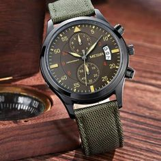 GREAT LOOKING WATCH GO TO; www.DaVaultco.com