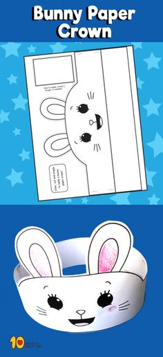 Bunny Paper Crown
