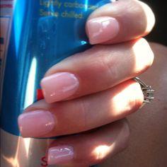 Natural nails I love these nails
