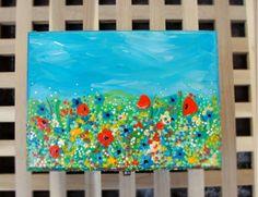 "Hand-painted jewelry box. Cutie de lemn pictata ""Summer"""