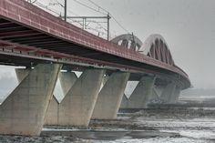 IJsselbrug vanaf Gelderland