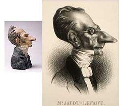Daumier's caricatures