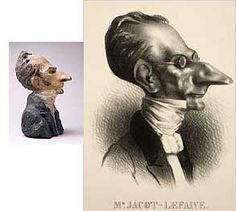 Daumier's caricatures