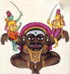Indian Epics: Images and PDE Epics: Image: Kabandha