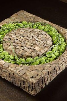 Verrassend arrangement met chrysanten gespot op JustChrys.com