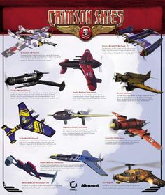Crimson Skies (in my humble opinion) was the best PC Flight Game of all time. When MS moved it over to the XBox it was still good but this was the best.
