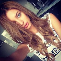 Chestnut Brown Hair | 24 Inch Double Wefted Full Head Clip in Extensions | £94.99 | Free Delievry | Shop Now: http://www.cliphair.co.uk/24-Inch-Double-Wefted-Set-Clip-In-Hair-Extensions-Light-Chestnut-Brown-6.html