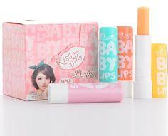 4pcs/lot angel baby light color lip balm makeup - Pandora Fashion