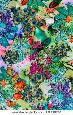 peacock fabric - Google Search Peacock Fabric, Google Search, Crafts, Blue, Painting, Art, Fashion, Art Background, Moda