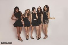 Fifth Harmony, 2014 | Here's 5H rocking cute black outfits.