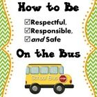 This colorful,engaging book is written in the style of a social story and addresses how to be Respectful, Responsible, and Safe on the bus.  This b...