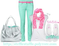 """Tiffany Blue"" by steffiestaffie on Polyvore"