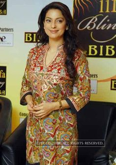 Awards & Performances Top Celebrities, Bollywood Celebrities, Celebs, Bollywood Stars, Bollywood Fashion, Most Beautiful Women, Beautiful People, Juhi Chawla, Latest Pics